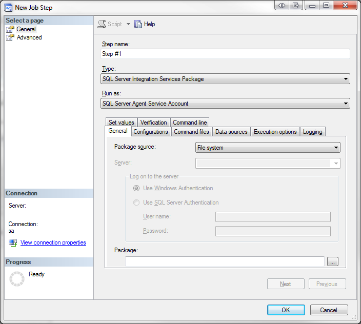 Scheduling an SSIS Package in SQL Server 2008 | WebDev Designs
